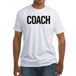 Coach (black) Fitted T-Shirt
