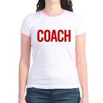 Coach (red) Jr. Ringer T-Shirt