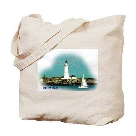 Boston Lighthouse Tote Bag