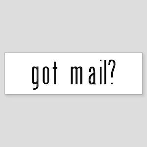 got mail? Sticker (Bumper)