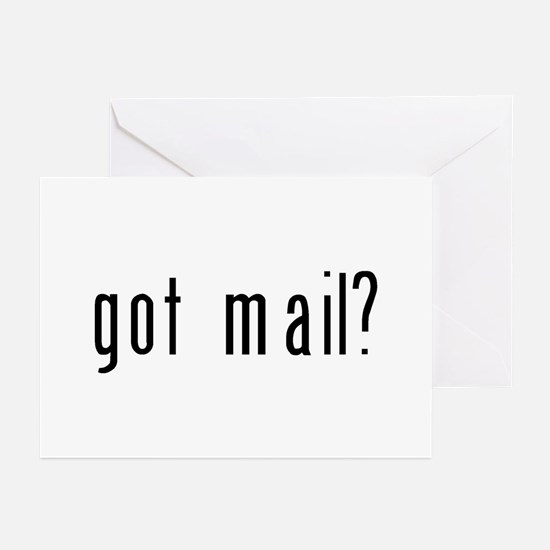 got mail? Greeting Cards (Pk of 10)