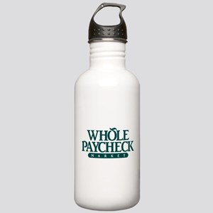 Whole Paycheck Market Stainless Water Bottle 1.0L