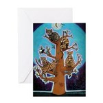 Bengal Tree Greeting Card