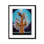 Bengal Tree Framed Panel Print