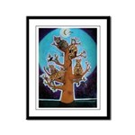 Bengal Tree Framed Panel Print