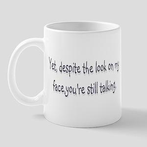 despite  Mug