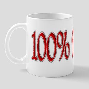100% Bitch Mug