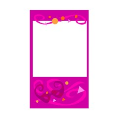 Pink Party Label Rectangle Decal