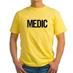 Medic (black) Yellow T-Shirt