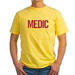 Medic (red) Yellow T-Shirt