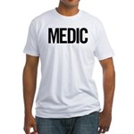 Medic (black) Fitted T-Shirt