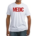 Medic (red) Fitted T-Shirt