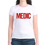 Medic (red) Jr. Ringer T-Shirt