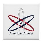 Atheist American Tile Coaster