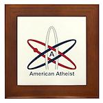 Atheist American Framed Tile