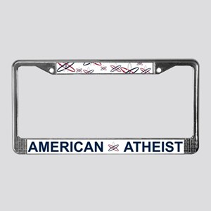 Atheist American License Plate Frame
