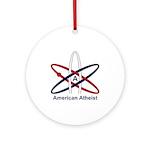 Atheist American Ornament (Round)