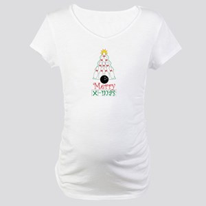 X-mas Bowler Maternity T-Shirt