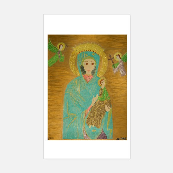 Our Lady of Perpetual Help Sticker (Rectangle)