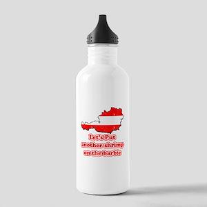 Austria - Shrimp on the barbi Stainless Water Bott