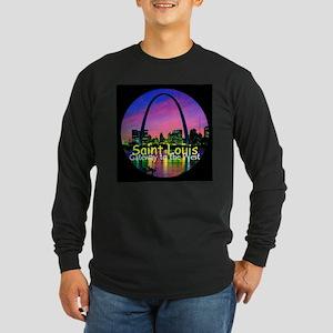 St. Louis Long Sleeve Dark T-Shirt