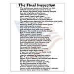 Policeman Final Inspection Poster
