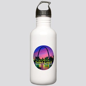 St. Louis Stainless Water Bottle 1.0L