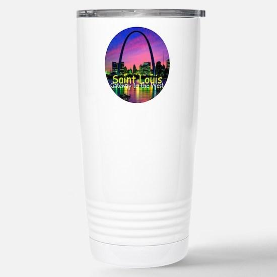 St. Louis Stainless Steel Travel Mug
