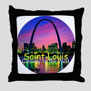 St. Louis Throw Pillow