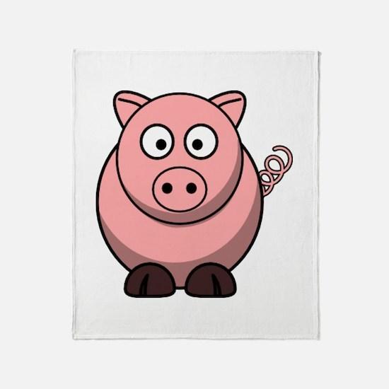 Unique Oink Throw Blanket