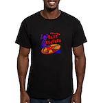 Jazz Records Men's Fitted T-Shirt (dark)