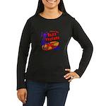 Jazz Records Women's Long Sleeve Dark T-Shirt