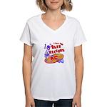 Jazz Records Women's V-Neck T-Shirt