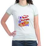 Jazz Records Jr. Ringer T-Shirt