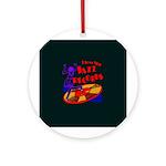 Jazz Records Ornament (Round)