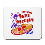 Jazz Records Mousepad