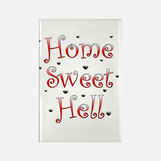 Sweet Home Rectangle Magnet