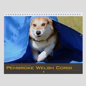 Corgi Agility Wall Calendar