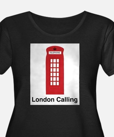London Calling Plus Size T-Shirt