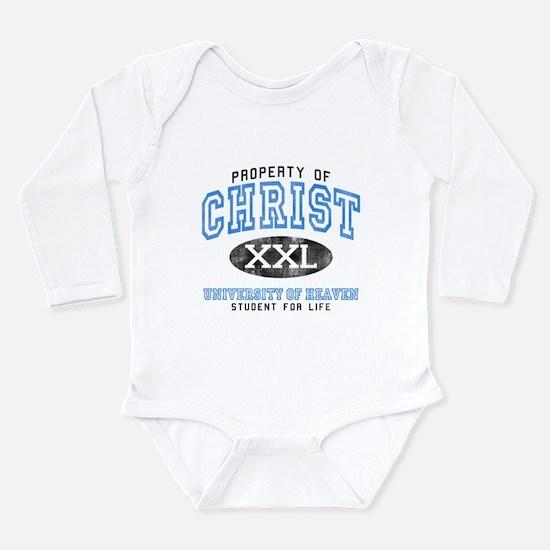 Heaven Long Sleeve Infant Bodysuit