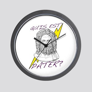 Quis est Pater? (Who's Your D Wall Clock