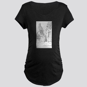 Daedalus and Icarus (Ovid) Maternity Dark T-Shirt