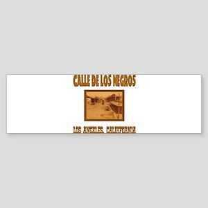 Calle de Los Negros Sticker (Bumper)