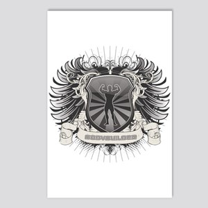 Body Builder Crest Postcards (Package of 8)