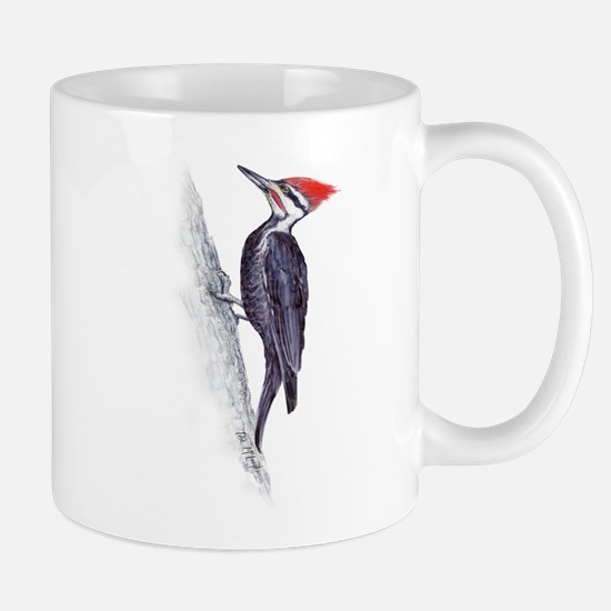handsome pileated woodpecker Mug