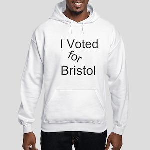 Vote For Bristol Hooded Sweatshirt