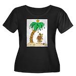 Desert Island Christmas Women's Plus Size Scoop Ne