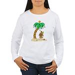 Desert Island Christmas Women's Long Sleeve T-Shir