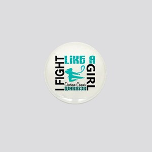 Licensed Fight Like A Girl 3.2 Ovarian Mini Button