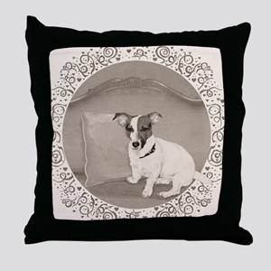 The Sophisticated JRT Throw Pillow